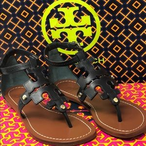 NWT Tory Burch Weston  flat sandals